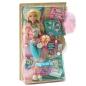 "Кукла Barbie: ""My Scene - Пижамная вечеринка"": Kennedy ободок, 2 заколки, колье, кулон артикул 11607d."